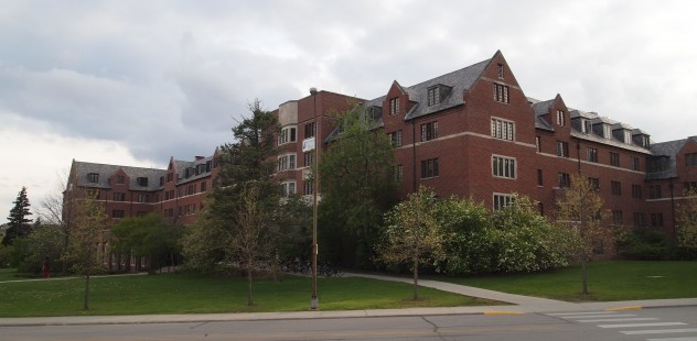 Photo by Joe Wolf of Friley Residence Hall